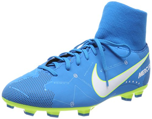 sneakers for cheap 00d3d 7ac54 Galleon - NIKE Jr Mercurial Victory VI Neymar DF FG Soccer Cleats  Blue White, Size 3Y
