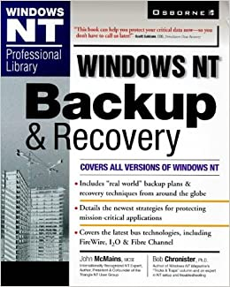 Book Windows NT Backup and Recovery Guide (Windows Nt Professional Library)