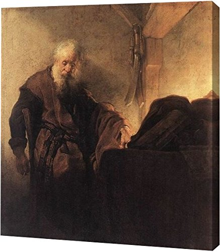 St Paul at His Writing-Desk by Rembrandt Van Rijn - 19