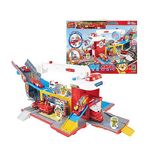 Pororo Transformation Fire Engine(Expedited shipping) by Pororo