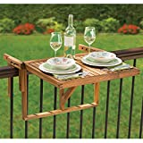 Hammacher Schlemmer The Instant Wooden Deck Table Review