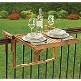 Hammacher Schlemmer The Instant Wooden Deck Table Review