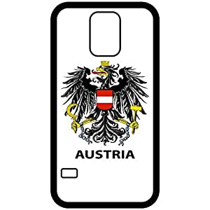 Austria - Coat Of Arms Flag Emblem Black Samsung Galaxy S5 Cell Phone Case - Cover