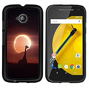 LECELL--Funda protectora / Cubierta / Piel For Motorola Moto E2 E2nd Gen -- Espacio Planet Galaxy Estrellas 52 --