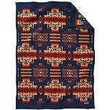 Pendleton Woolen Mills Muchacho Baby Blanket, Indigo