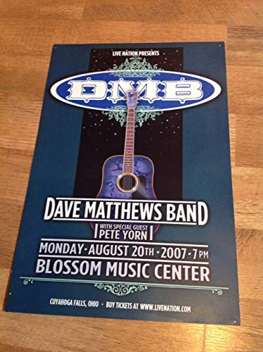 - Dave Matthews Band Concert Poster 2007 Original