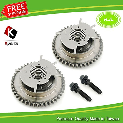Replacement for Dorman 917-250 Cam Phaser Ford 4.6L 281 5.4L 330 3V Variable Timing Cam Phaser VVTi Actuator, Bolts (Pair) HJL
