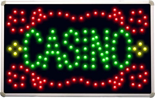 (led077 Casino Room LED Neon Sign )