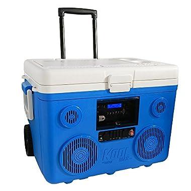 TUNES2GO CA-E065A KoolMAX Bluetooth 350-Watt Portable PA Speaker (Blue)