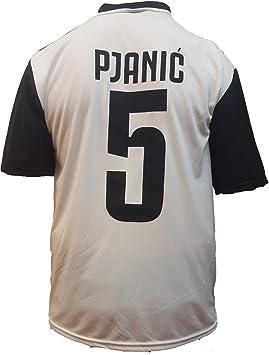 Camiseta Jersey Futbol Juventus Pjanic Replica Oficial Autorizado 2018-2019 Niños (2,4