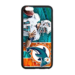 Onshop Miami Dolphins Custom Case for iPhone 5s Inch (Laser Technology)
