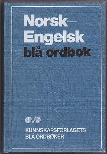ordliste engelsk til norsk