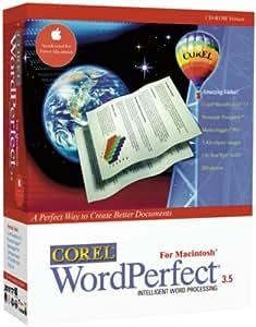 Corel WordPerfect 3.5 for Macintosh