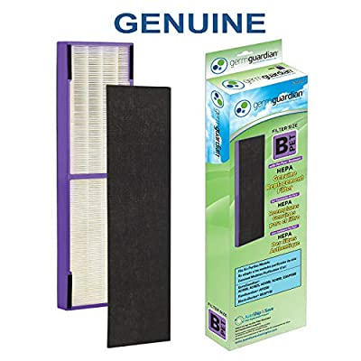 Germ Guardian Air Purifier Filter FLT4850PT Genuine HEPA Pet Pure Replacement Filter B Pet for AC4825, AC4825E, AC4300BPTCA, AC4850PT, AC4900CA GermGuardian Air Purifiers [Upgraded]