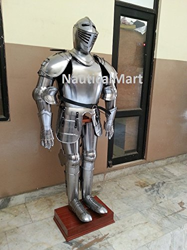 [Nauticalmart Medieval Wearable Knight Crusador Full Suit of Armor Collectible Armor Costume] (Body Central Halloween Costumes)