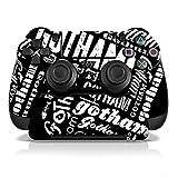 Controller Gear Gotham Graffiti - PS4 Skin Set for Controller and Controller Stand