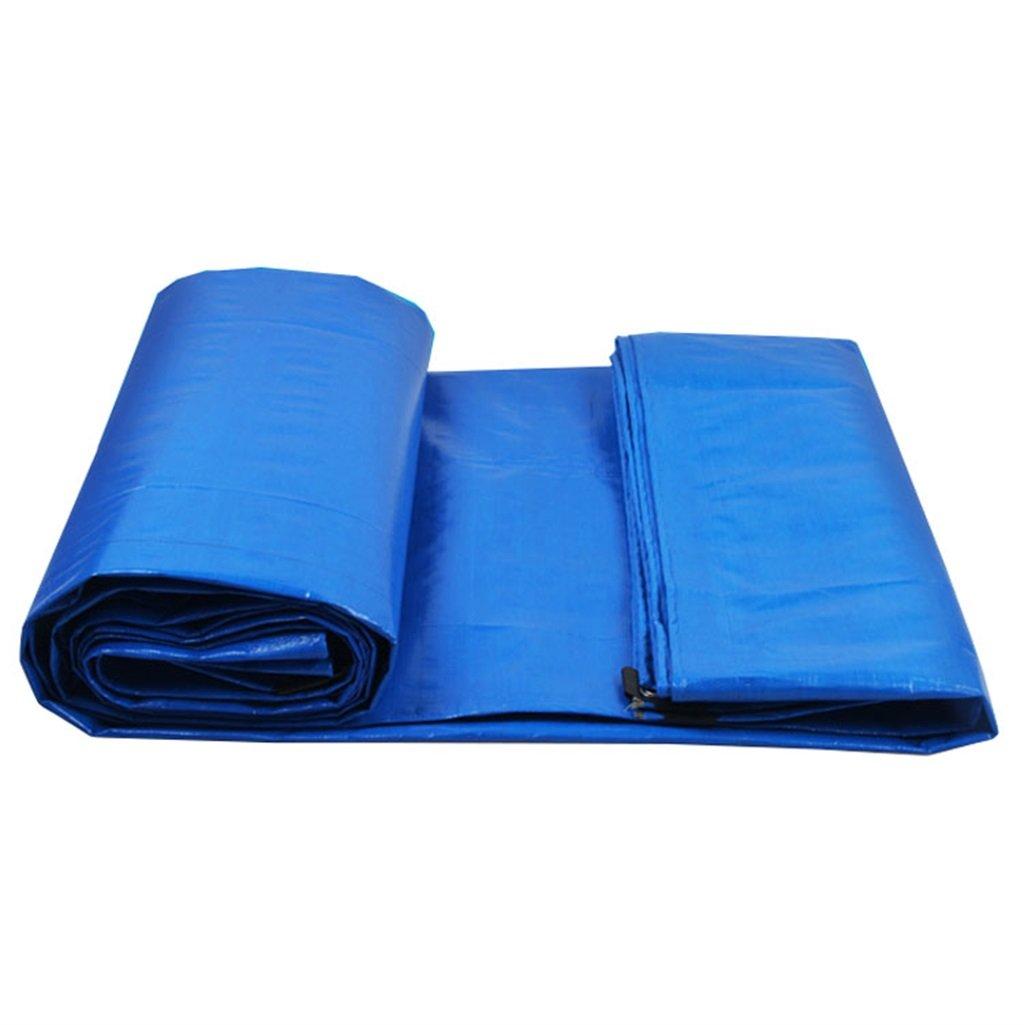 Plane Persenning Blaues Polyäthylen-Plane-Boden-Blatt bedeckt Zelt-Unterlage für das Kampieren und Outdoor, Multi-Größe Wahlen Abdeckplanen (größe   3MX6M)