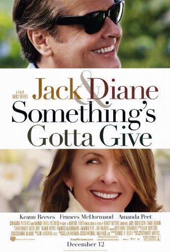 Pop Culture Graphics Something's Gotta Give Poster 27x40 Jack Nicholson Diane Keaton Amanda PEET