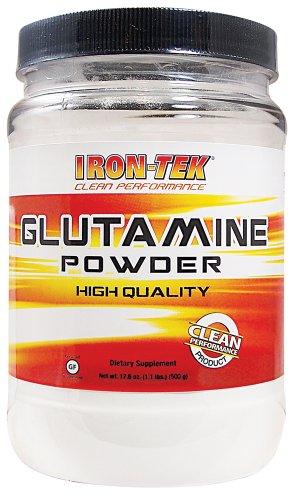 Iron Tek Glutamine Pure Amino Acid Powder