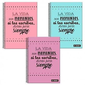 Frases Cuadros Libreta Espiral A4 Astroeuropa Ast7198