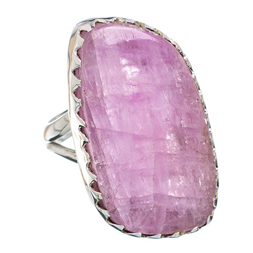 Kunzite Ring Size 6 (925 Sterling Silver) - Handmade Jewelry RING876626 from Ana Silver