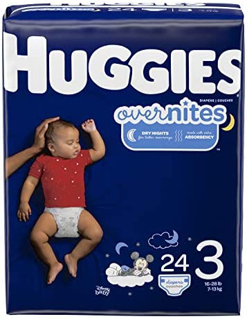HUGGIES OverNites Diapers Overnight Packaging