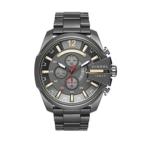 Diesel Men's DZ4421 Mega Chief Gunmetal Watch