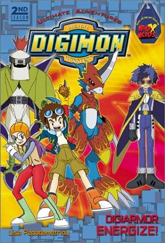 (Digimon 2nd season Ultimate Adventures #1: DigiArmor Energize!: (DigiArmor Energize!) (Digimon Digital Monsters Season 2))
