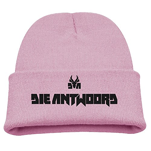 SHEAKA-DIE-ANTWOORD-Babys-Knitted-SkiingHat-Pink-For-Autumn-And-Winter
