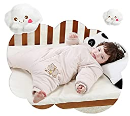 Gemini Fairy 100% Organic Cotton Wearable Blankets Baby Sleping Sack Bag for Fall and Winter Cold Weather (L, Donkey)