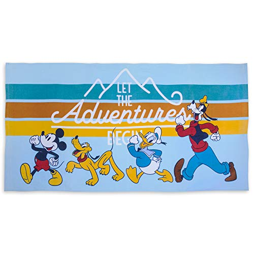 Towel Beach Disney - Disney Mickey Mouse and Friends Beach Towel - Multi