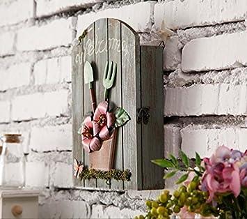 GYX caja de Immagazzinaggio del Jardín Caja llavero pared ...