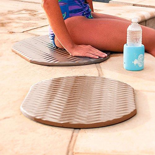 (Texas Recreation Super Soft Oval Foam Cushion, Bronze 2-Pack )