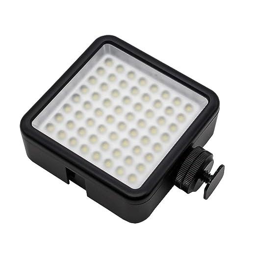 YILONG Cámara réflex Digital 64 Panel de luz LED portátil ...