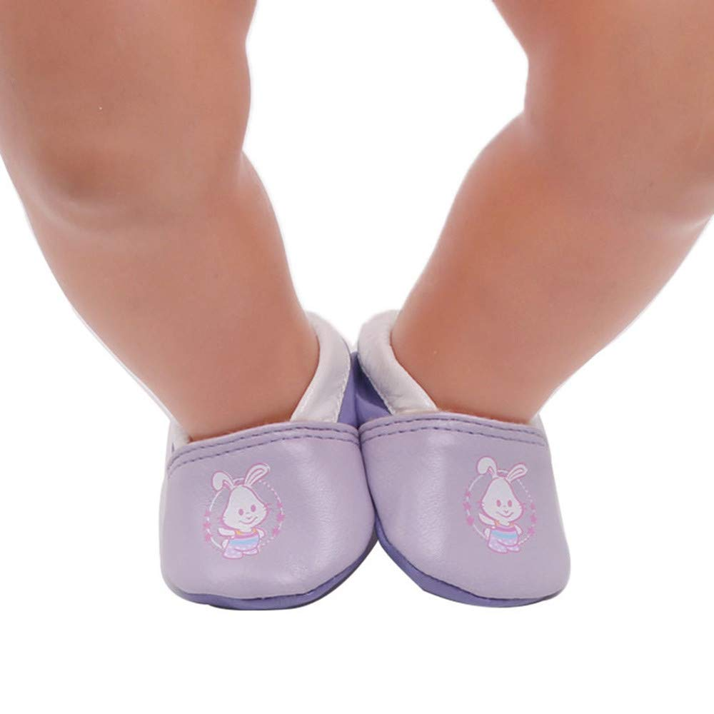 für American Girl Schuhe Lederschuhe (ohne Puppen), Malloom 18-Zoll-für American Girl schöne niedliche Schuhe passt Puppe Zubehör Mädchen Spielzeug