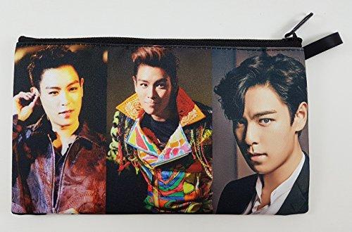 TOP T.O.P In BIGBANG Big Bang KPOP BIG Zip Pen Pencil /Cosmetic Makeup Case Bag Pouch Stationery - New York Prada