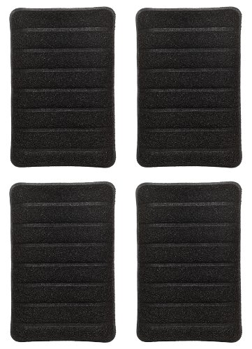 Jetz-Scrubz J52/4 Indoor Grill Scrubber Sponge, Set of 4, Made in the USA - George Foreman Cleaning Sponges