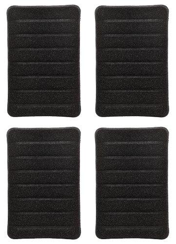 Jetz-Scrubz Indoor Grill Scrubber Sponge, Set of 4 (Indoor Grill Cleaning Sponge)