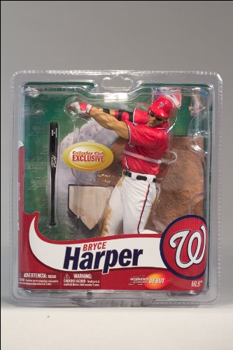 McFarlane Toys MLB Figure Collectors Club limited edition red / Bryce Harper / Washington Nationals Mcfarlane Club
