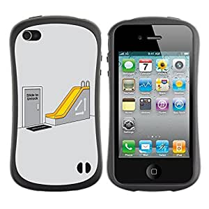 fashion Case for Apple iPhone 5s for kids / Office Humor