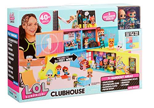 Nueva Casa Club LOL Surprise con 40 Sorpresas y 2 Muñecas Exclusivas
