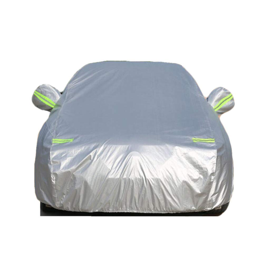 Jsmhh Car Cover Full Cover Compatible with Toyota Tarpaulin Hood Car Cover Waterproof UV Protection Car,Silver,Prado (Color : Silver, Size : Camry) by Jsmhh