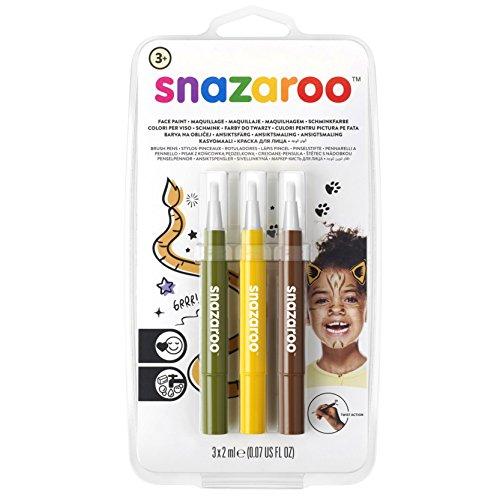 Snazaroo Face Paint Brush Pen, Jungle ()