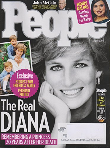 People August 7, 2017 The Real Diana - Remembering Princess Diana 20 Years After Her Death