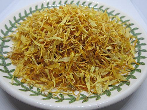 (Marigold Petals - Loose Calendula officinalis Petals 100% from Nature (1 oz))