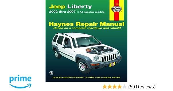 jeep liberty 2002 thru 2007 haynes repair manual editors of rh amazon com 2007 jeep liberty repair manual pdf 2010 jeep liberty repair manual free