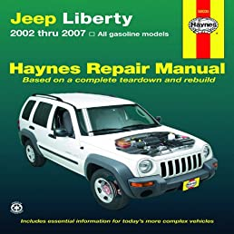 jeep liberty 2002 thru 2007 haynes repair manual editors of rh amazon com 2004 Jeep Liberty Cooling System 2004 Jeep Liberty Lifted