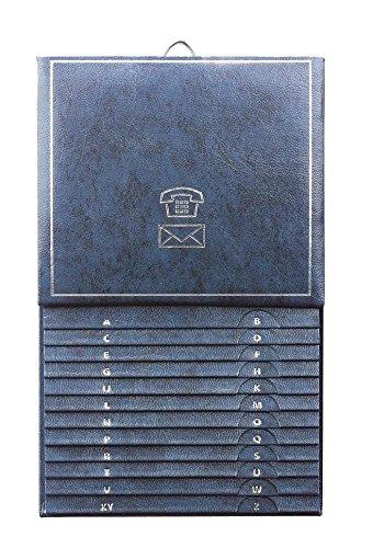 Herlitz Telefonregister A-Z / Telefonbuch / Grö ß e: 13, 5 x 21cm / Farbe: blau herltz