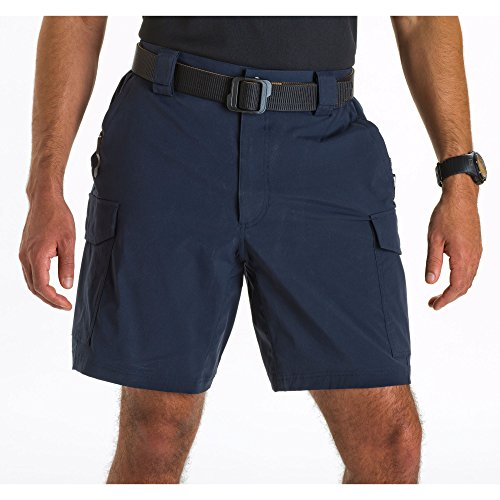 5.11 Tactical Men's 9-Inch Inseam Bike Patrol Shorts, Nylon Spandex Fabric, Style 43057 5.11 Tactical Nylon Shorts
