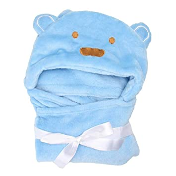 Amazon.com: HIGHUP - Toallas de baño con capucha para bebé ...